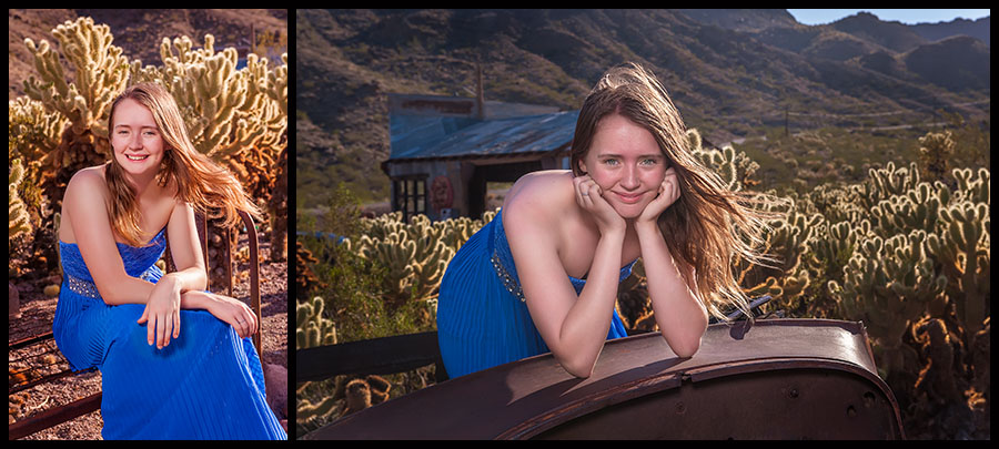 Nelson Ghost Town - Senior Portraits 10