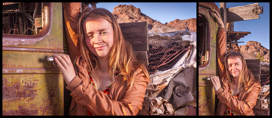 Nelson Ghost Town - Senior Portraits 11