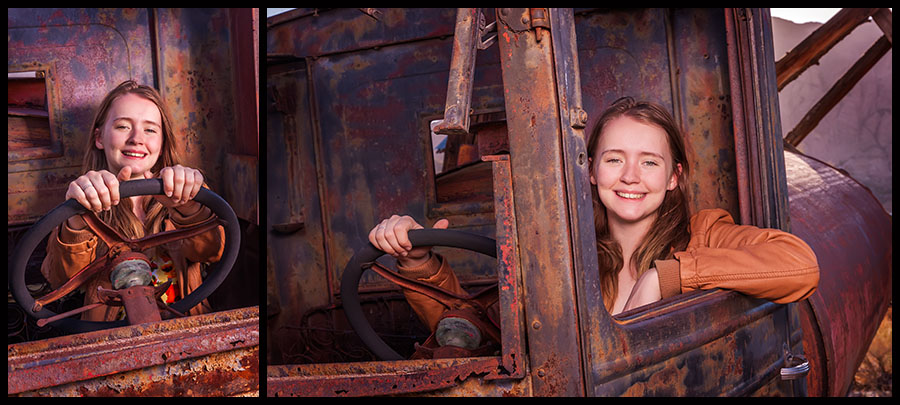 Nelson Ghost Town - Senior Portraits 12