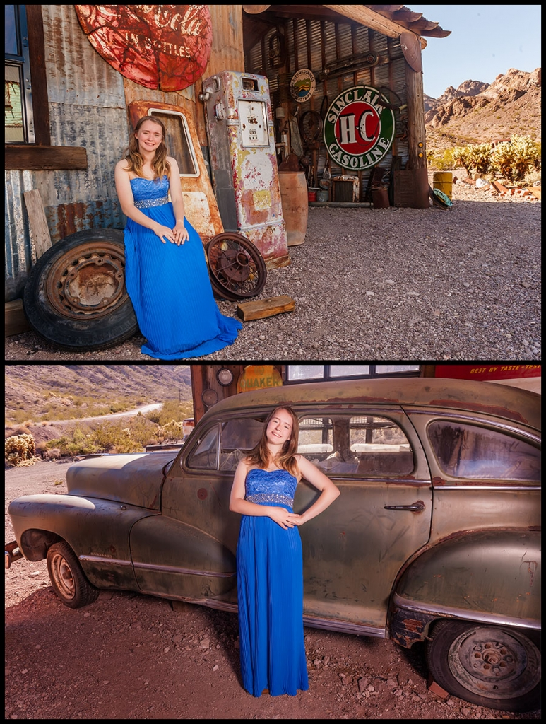 Nelson Ghost Town - Senior Portraits 2