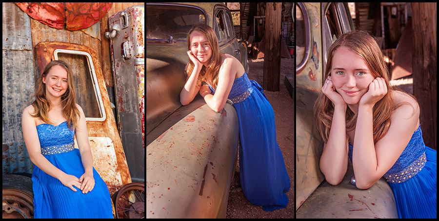 Nelson Ghost Town - Senior Portraits 3
