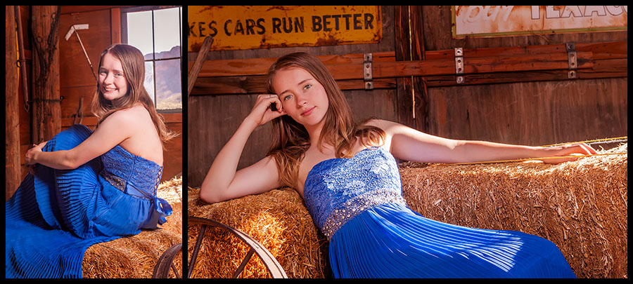 Nelson Ghost Town - Senior Portraits 7